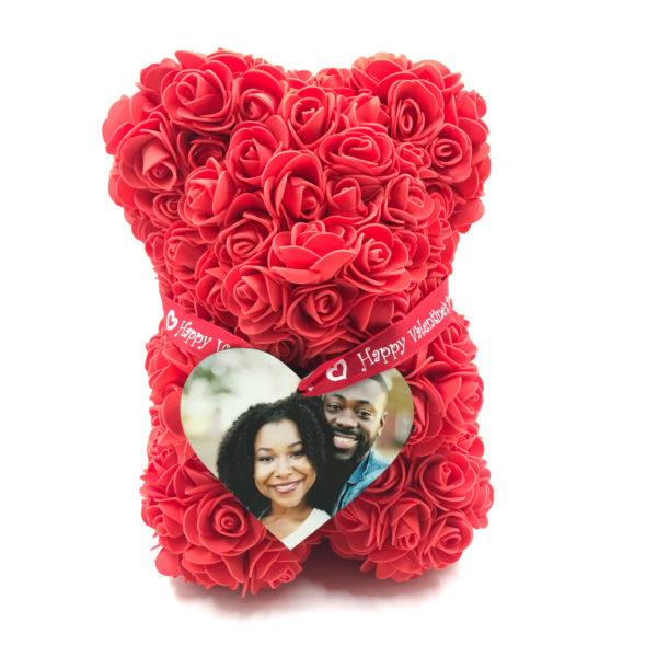 Red Rose Teddy