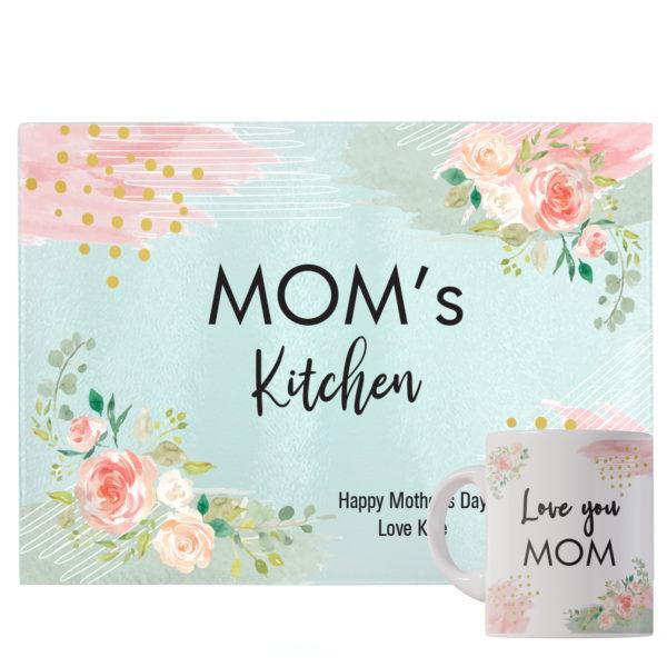 Mom Kitchen Board and Mug