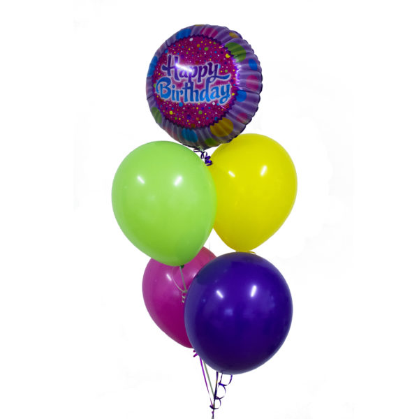 HBD Foil and Balloon Bunch